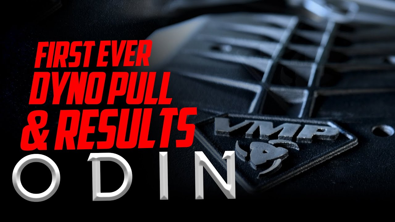 VMP Odin Supercharger Dyno Results